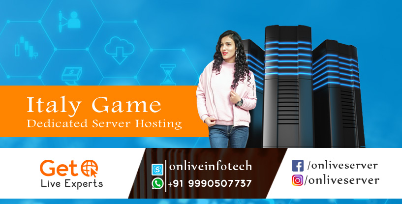 Italy Game Dedicated Server Hosting