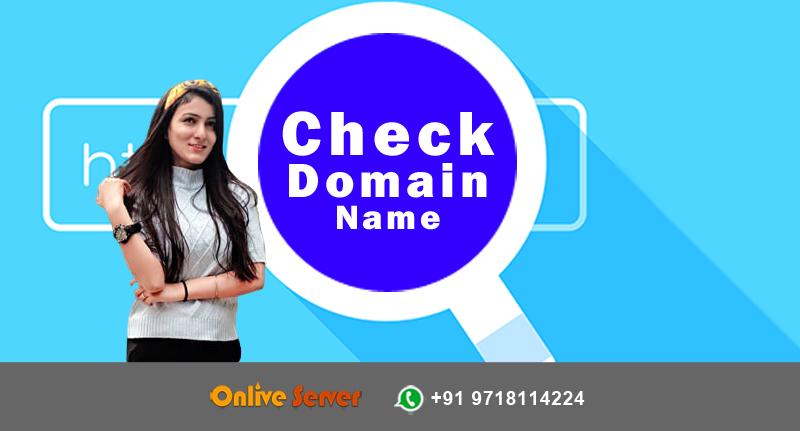 Check Domain Name